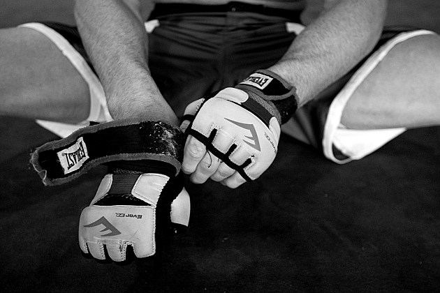 MMA Fighter's Hands