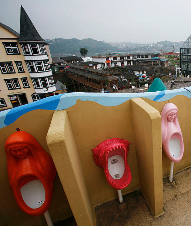 Chinese Public Bathroom. China now Hiring Bathroom Cleanliness Officials